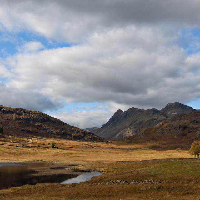 """Blea Tarn, Lake District"" stock image"