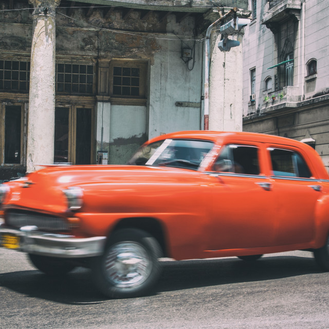 """Car in Havana, Cuba"" stock image"