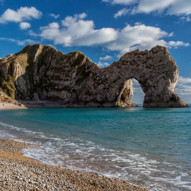 """Durdle Door, Dorset, England"" stock image"