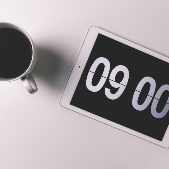 """Morning coffee"" stock image"