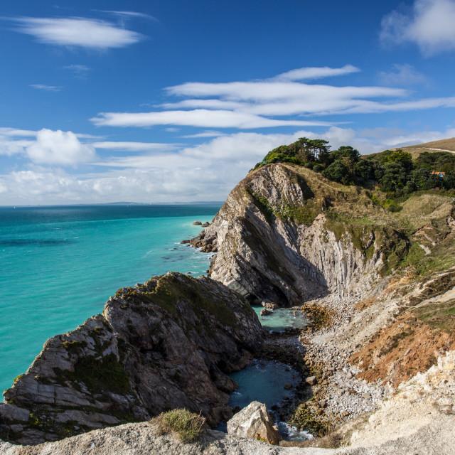 """Jurassic Coast, Dorset"" stock image"