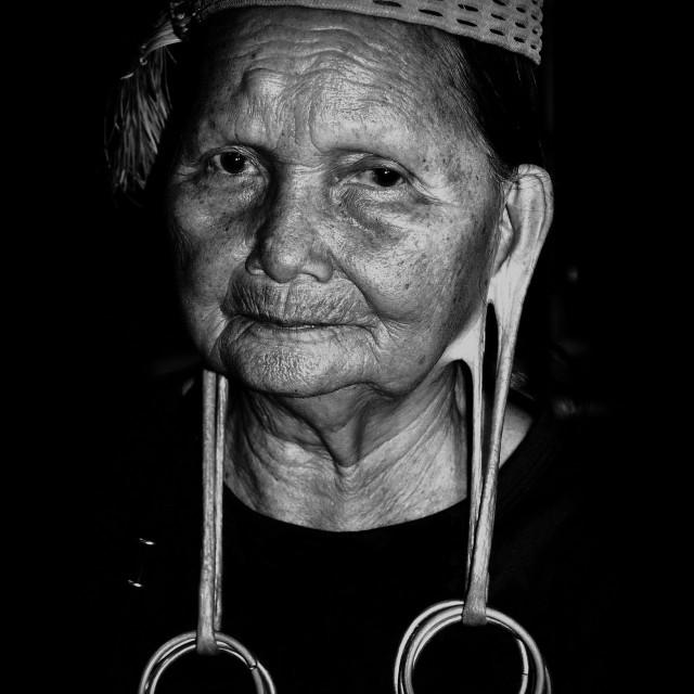 """Kelabit Woman"" stock image"