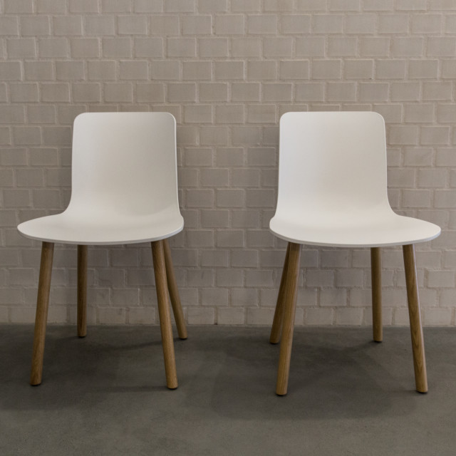 """""""Pair of white chairs"""" stock image"""