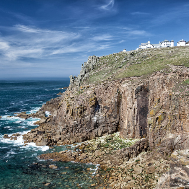 """Land's End, Cornwall, England"" stock image"