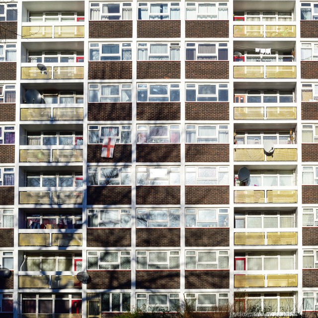 """Kingston upon Hull,2017.High rise Living"" stock image"