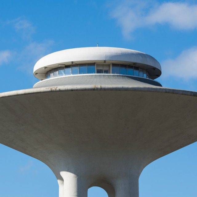 """Malmo water tower"" stock image"
