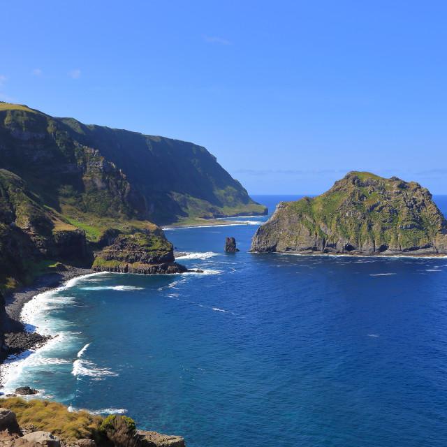 """Maria Vaz Island- Flores"" stock image"