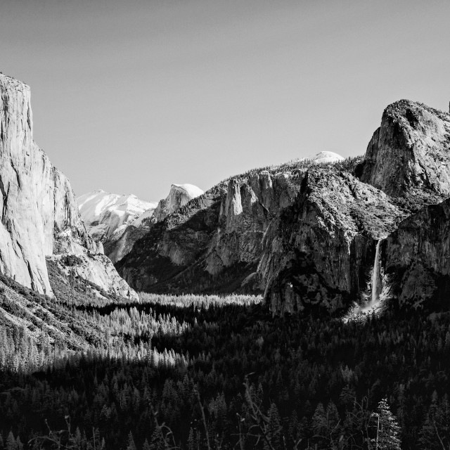 """Yosemite Valley 3"" stock image"