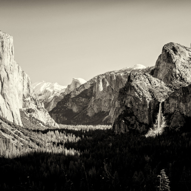 """Yosemite Valley 2"" stock image"