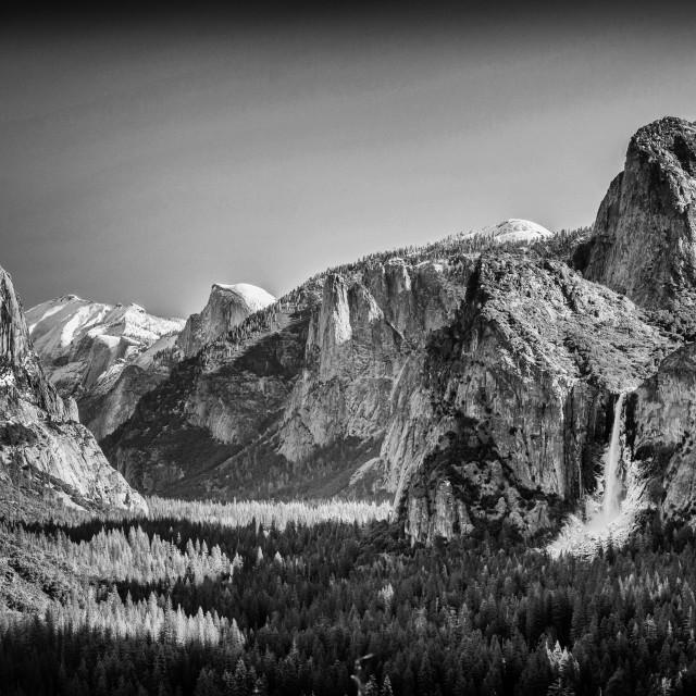 """Yosemite Valley 1"" stock image"
