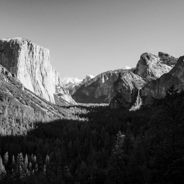 """Yosemite Valley 4"" stock image"