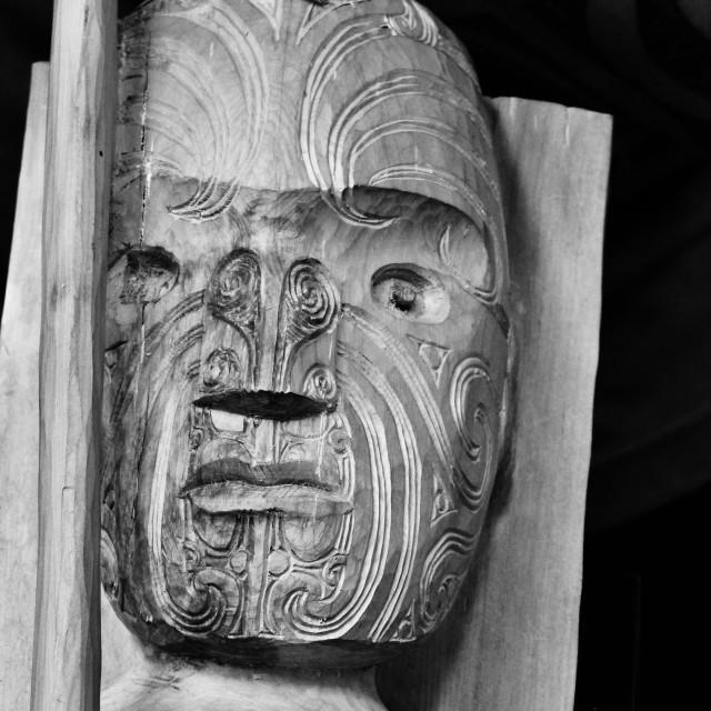 """""""Toi Whakairo"""" stock image"""