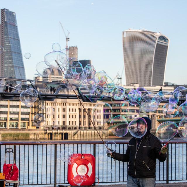 """London Bubble"" stock image"