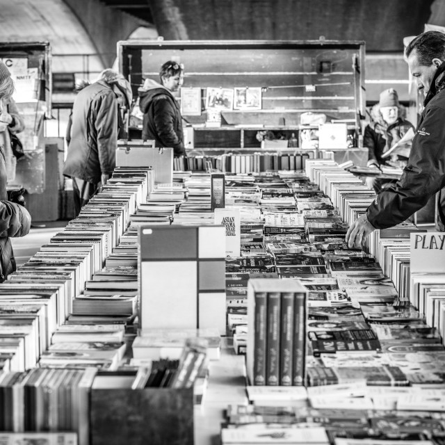 """Blackfriars Book Market"" stock image"