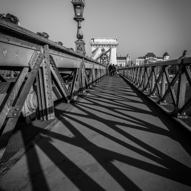 """Szechenyi Shadows"" stock image"