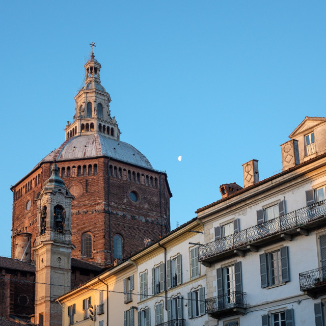 """Cathedral of Pavia"" stock image"