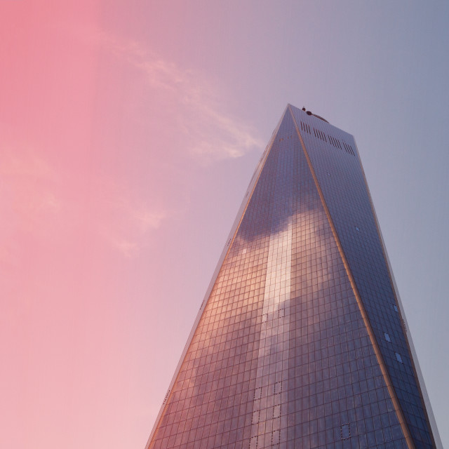 """One World Trade Building, New York City"" stock image"
