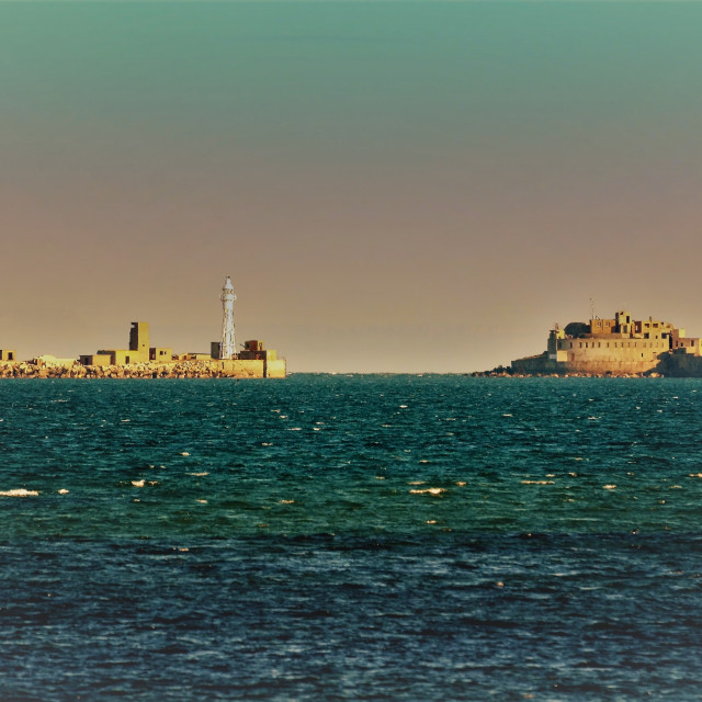 """Portland Harbour 2"" stock image"