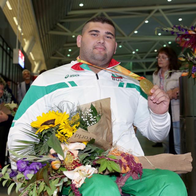 """""""Ruzhdi Ruzhdi gold medal"""" stock image"""