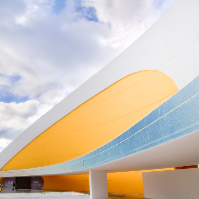 """""""Int. Cultural Centre in Aviles (Spain)"""" stock image"""