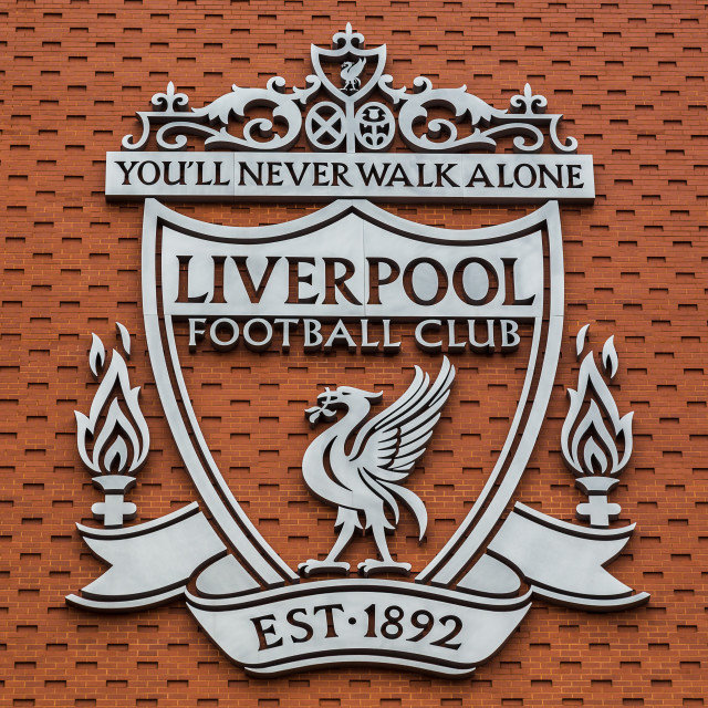 """Liverpool FC club crest"" stock image"