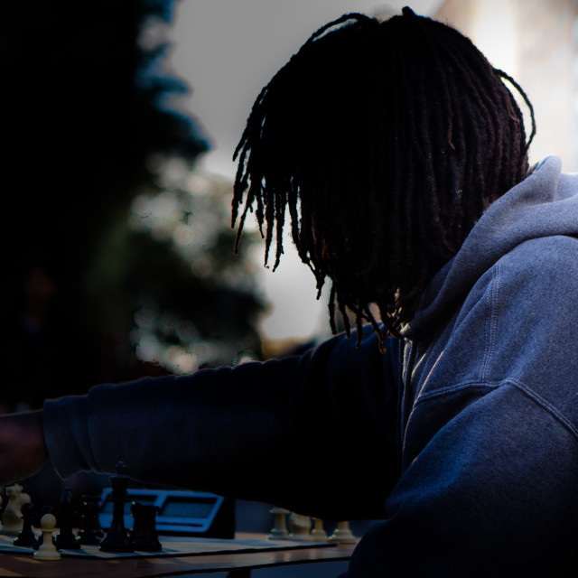 """Chess Move"" stock image"