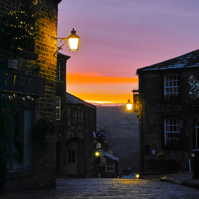 """Haworth"" stock image"