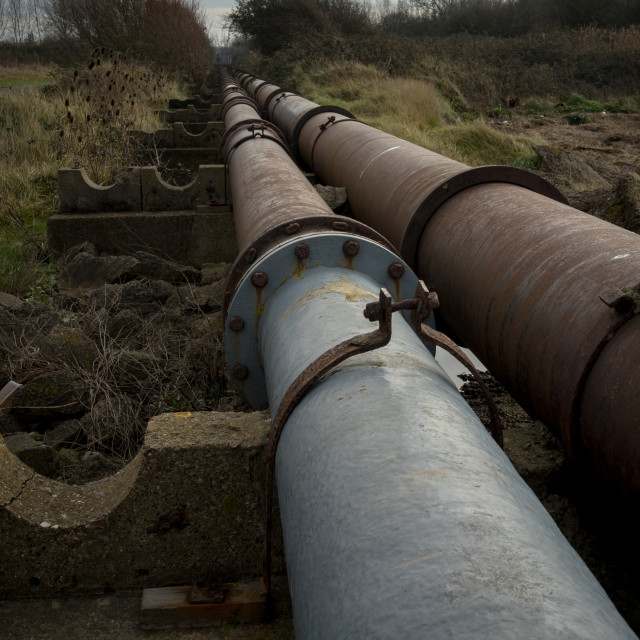 """""""Pipe Line"""" stock image"""
