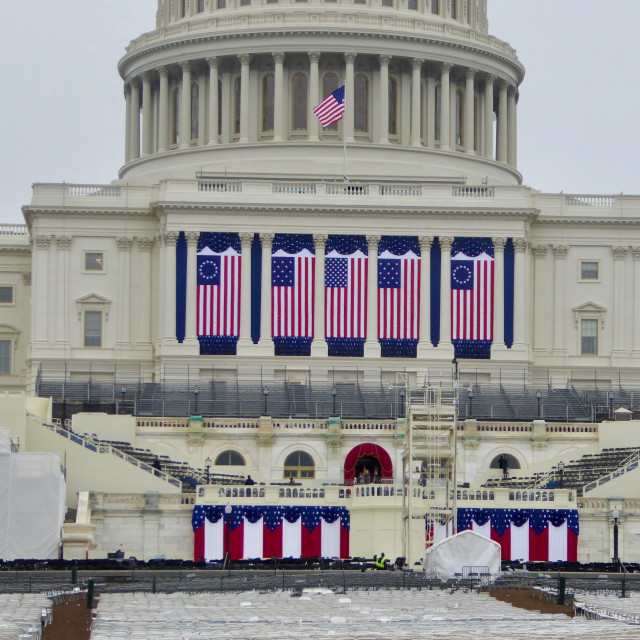 """US Capitol Inauguration 2017"" stock image"