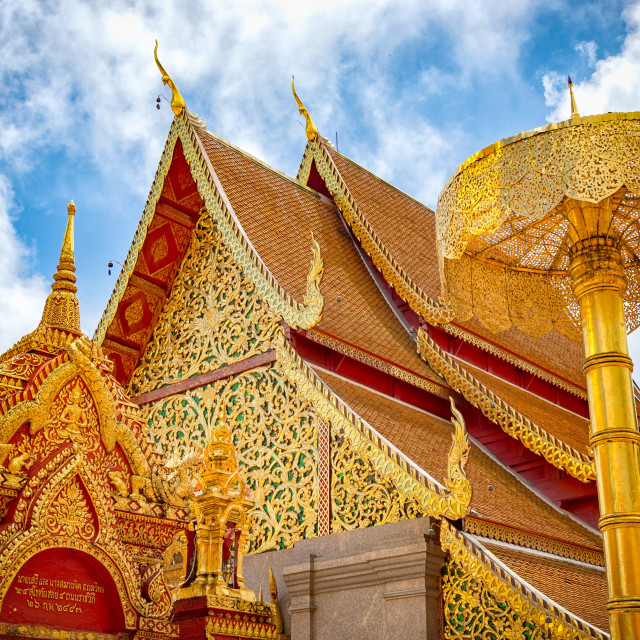 """Chiang Mai temple."" stock image"
