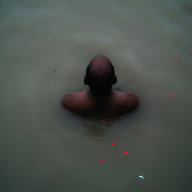 """The Ganges"" stock image"