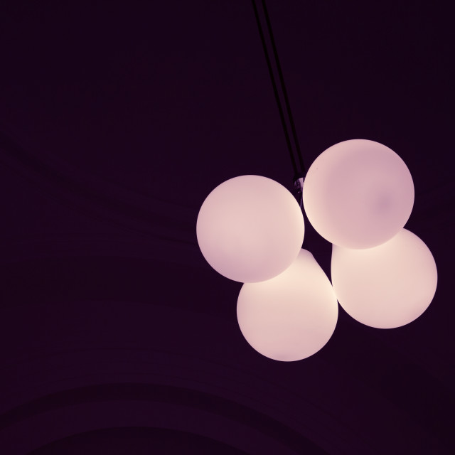 """""""Ceiling lights"""" stock image"""