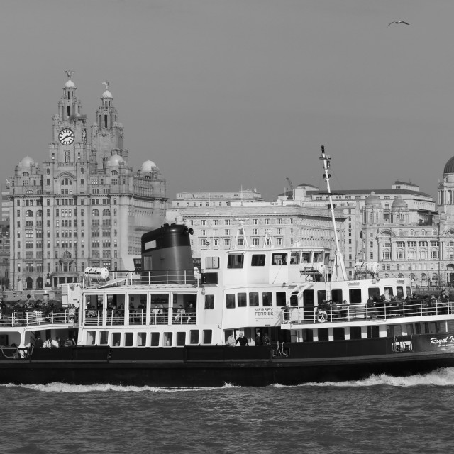 """Mersey Ferry"" stock image"
