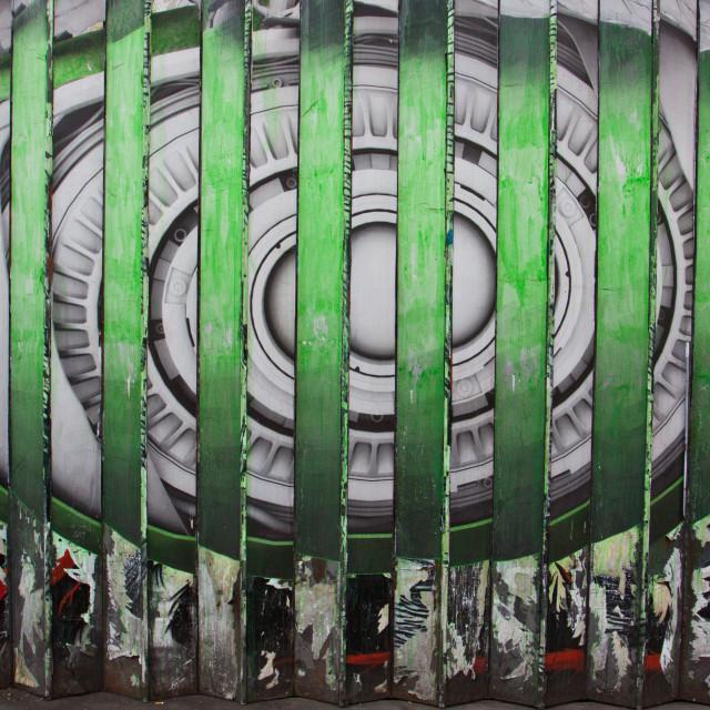 """Street Art Eye"" stock image"