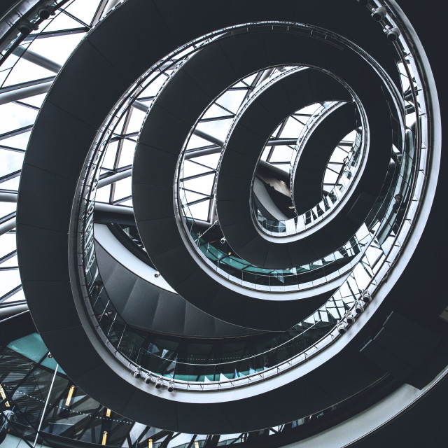 """Spiral Architecture"" stock image"