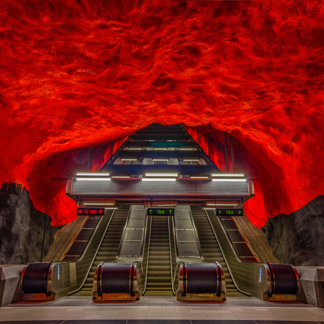 """""""Stairway to Stockholm"""" stock image"""