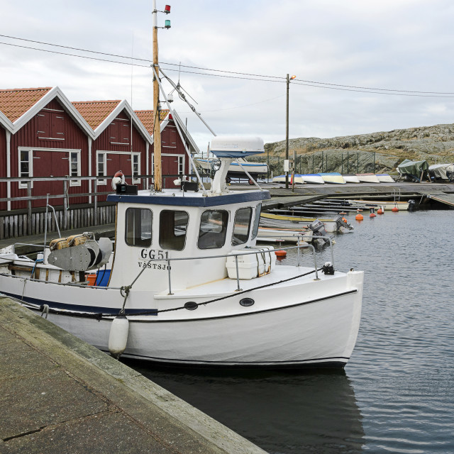 """small fishing boat"" stock image"
