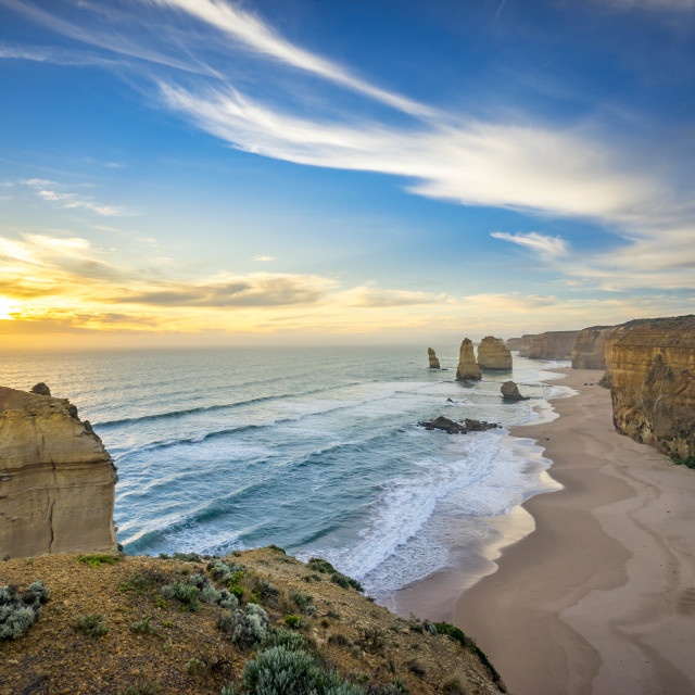 """The Twelve Apostles, Great Ocean Road, Australia"" stock image"