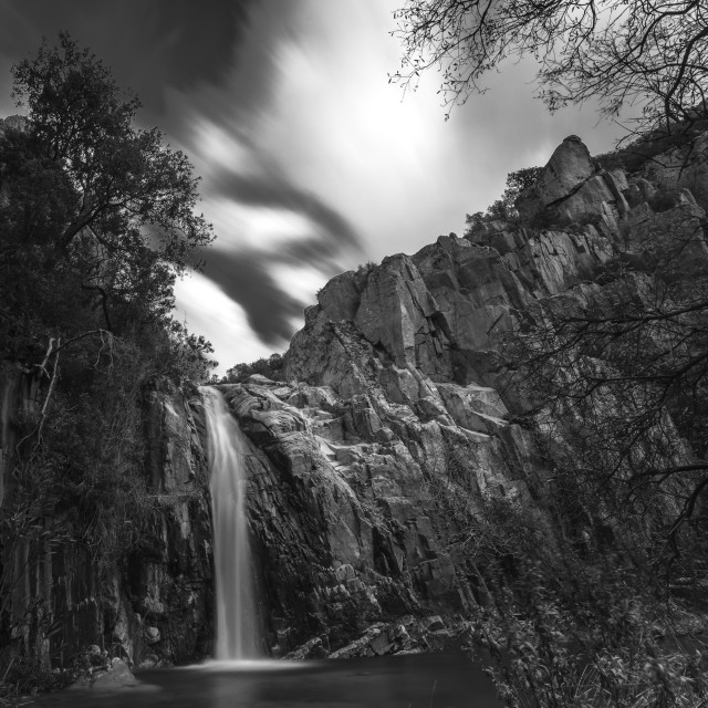 """waterfall chiara"" stock image"