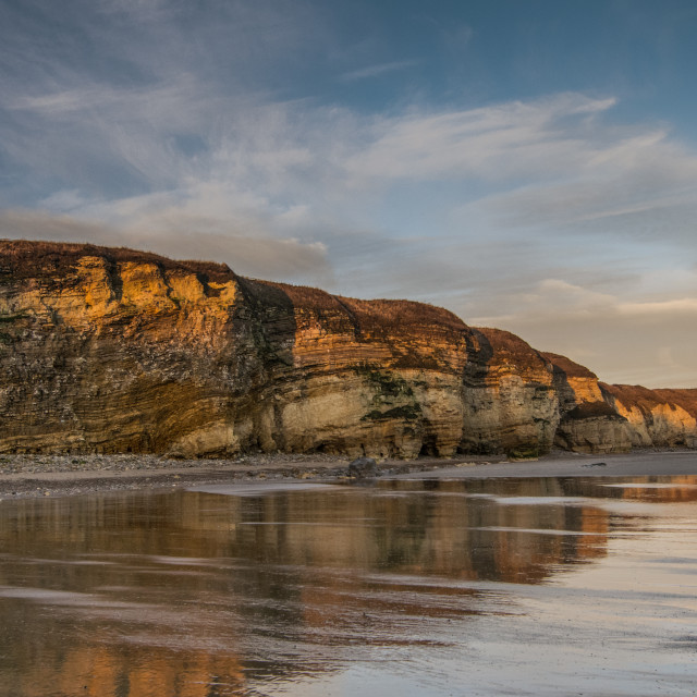 """Marsden Bay"" stock image"