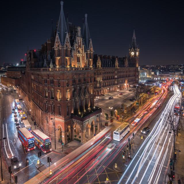 """London Rush Hour"" stock image"