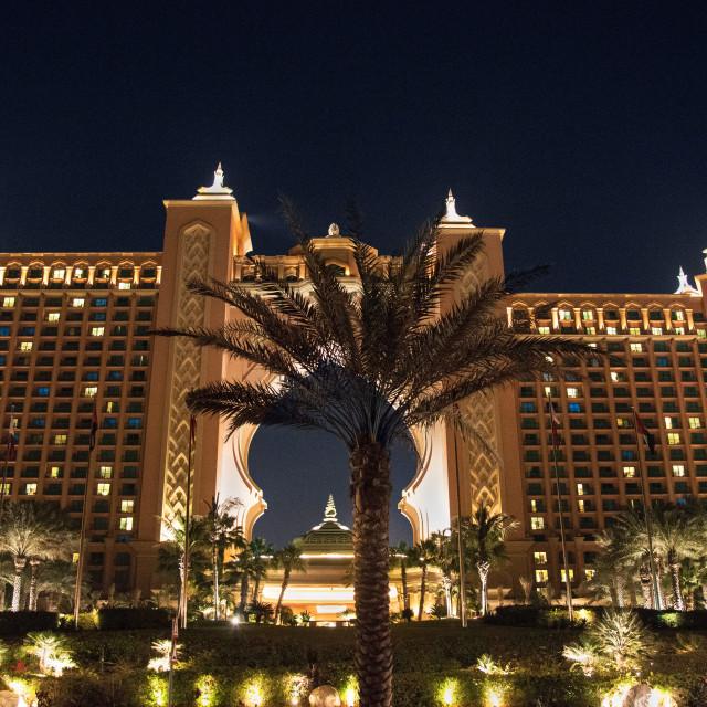 """Atlantis Dubai"" stock image"