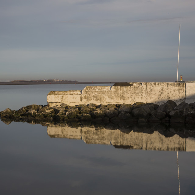 """West Kirby Marine Lake"" stock image"