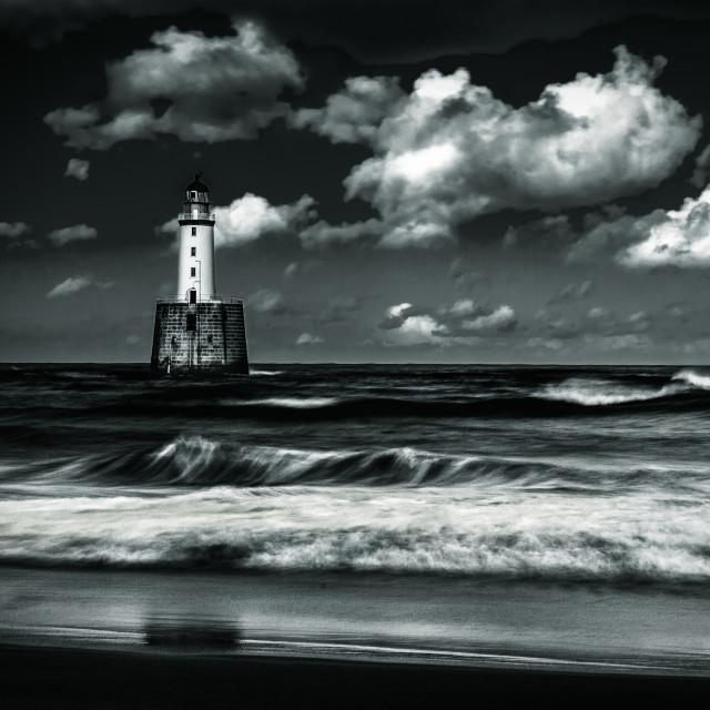 """Lighthouse landscape"" stock image"