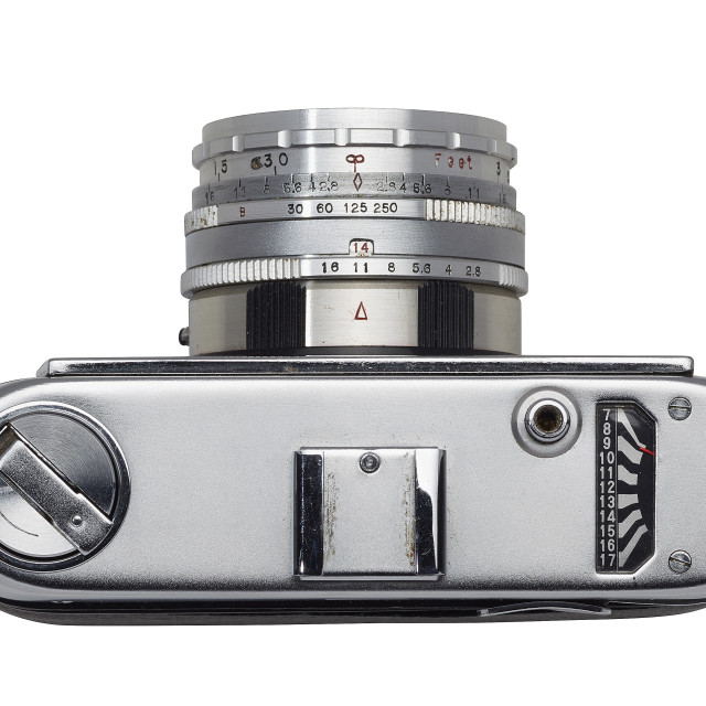 """1960s 35mm camera"" stock image"