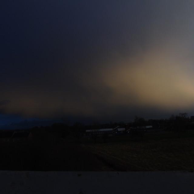 """Sunset Cloud"" stock image"