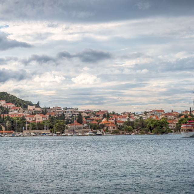"""Croatian Coastline"" stock image"