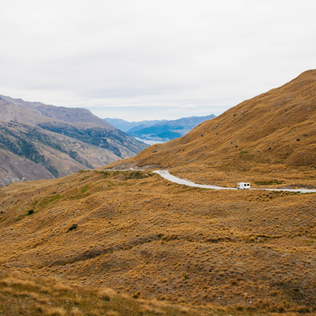 """New Zealand Roadtrip"" stock image"