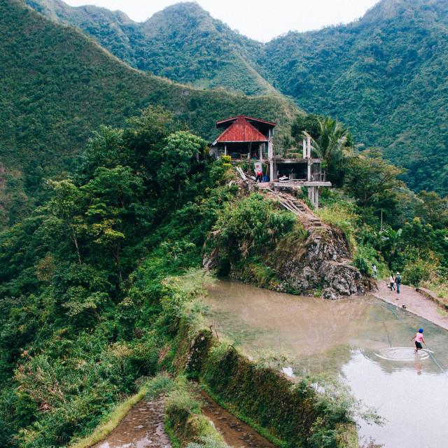 """Banaue Rice Terraces"" stock image"