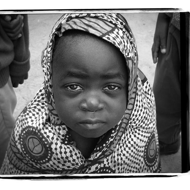 """Tanzanian Girl"" stock image"